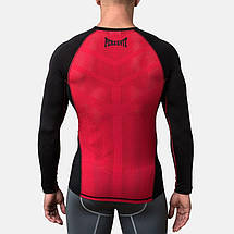 Компрессионная футболка Peresvit Air Motion Compression Long Sleeve T-Shirt Black Red, фото 2