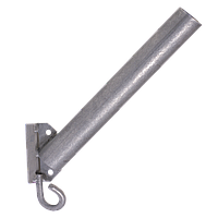 Кронштейн КБЛ-С с крюком для светильника уличного освещения (д.50 мм., длина трубы 350 мм.) Билмакс