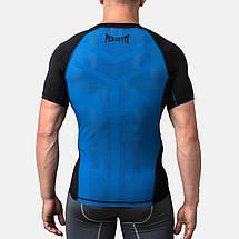 Компрессионная футболка Peresvit Air Motion Compression Short Sleeve T-Shirt Black Blue, фото 2