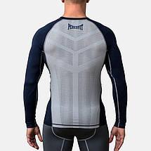 Компрессионная футболка Peresvit Air Motion Compression Long Sleeve T-Shirt Navy Grey, фото 3
