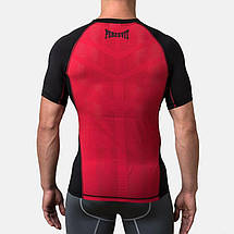 Компрессионная футболка Peresvit Air Motion Compression Short Sleeve T-Shirt Black Red, фото 2