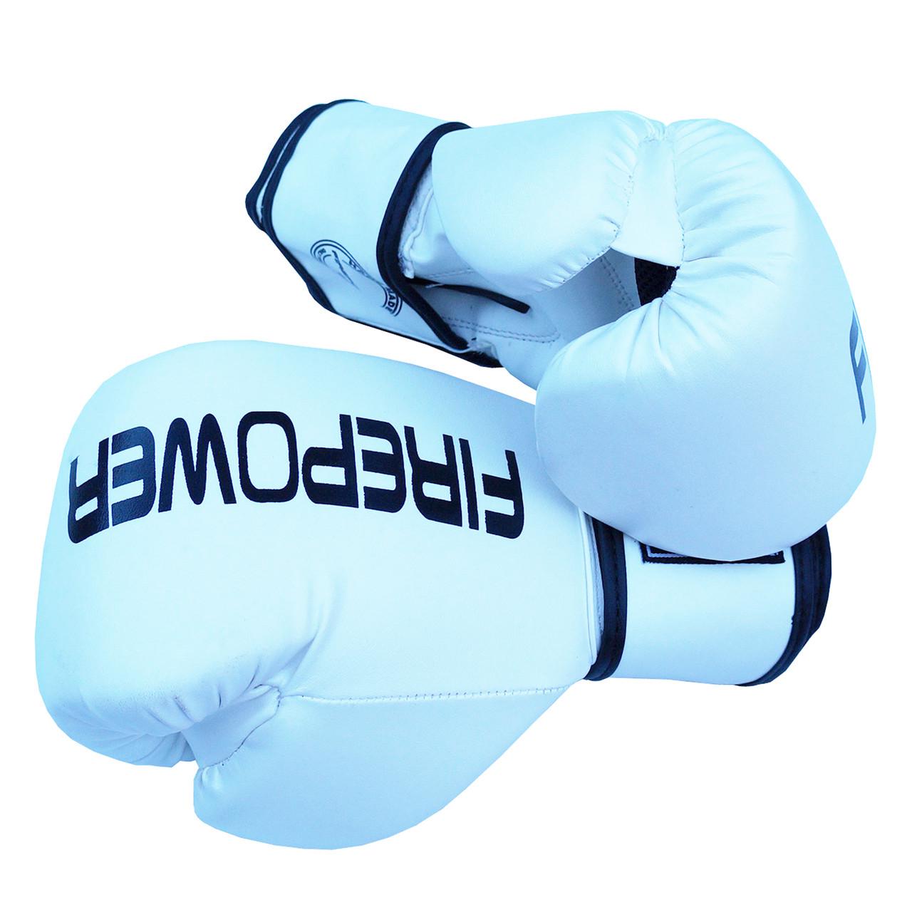 Боксерські рукавички Firepower FPBGA11 Білі