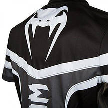 Футболка Venum Sharp 2.0 Dry Tech T-shirt Black Grey, фото 3