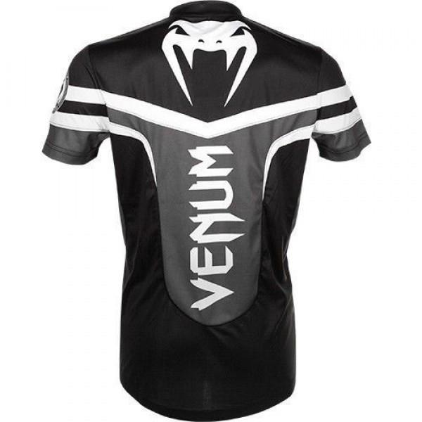Футболка Venum Sharp 2.0 Dry Tech T-shirt Black Grey