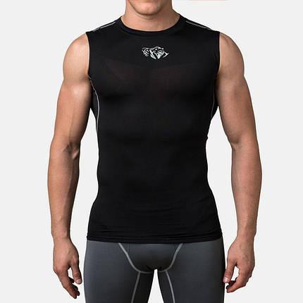 Компрессионная футболка без рукавов Peresvit Air Motion Compression Tank Black, фото 2