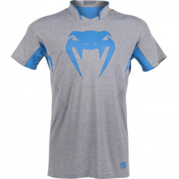 Футболка Venum Hurricane X Fit T-shirt Grey Blue