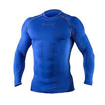 Компрессионная футболка с длинным рукавом Peresvit 3D Performance Rush Compression T-Shirt Royal, фото 2