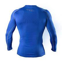 Компрессионная футболка с длинным рукавом Peresvit 3D Performance Rush Compression T-Shirt Royal, фото 3