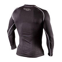 Компресійна футболка з довгим рукавом Peresvit 3D Performance Rush Compression T-Shirt Black, фото 3