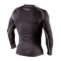 Компрессионная футболка с длинным рукавом Peresvit 3D Performance Rush Compression T-Shirt Black, фото 3