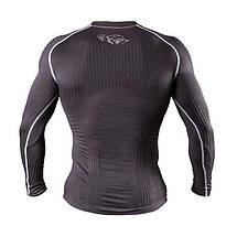 Компрессионная футболка с длинным рукавом Peresvit 3D Performance Rush Compression T-Shirt Black, фото 2