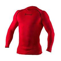 Компресійна футболка з довгим рукавом Peresvit 3D Performance Rush Compression T-Shirt Red, фото 3