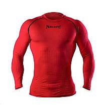 Компресійна футболка з довгим рукавом Peresvit 3D Performance Rush Compression T-Shirt Red, фото 2