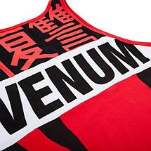 Майка Venum Revenge Tank Top Red Black, фото 2