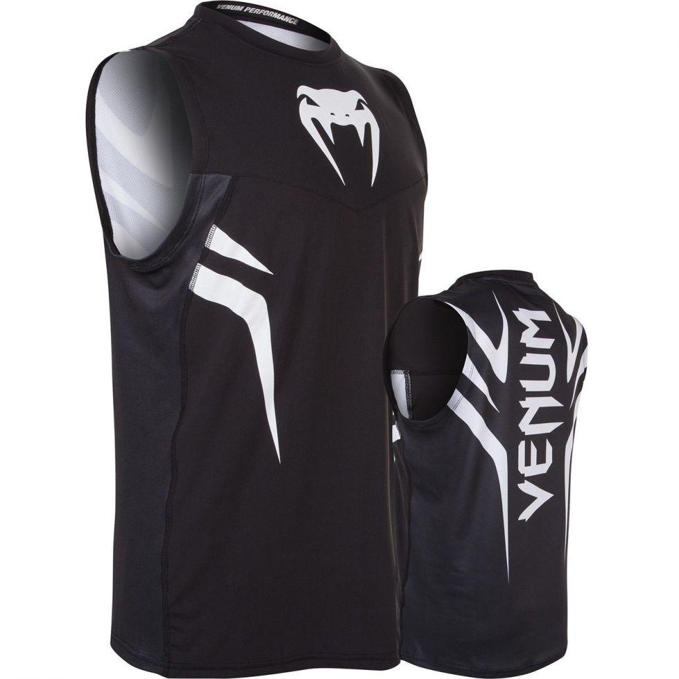 Рашгард Venum Giant rashguard - Black - short sleeves