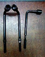 Ключ балонный 19 J15 и A13. Колесный ключ Форза / Chery. Оригинальный торцевой ключ на 19 мм Zaz Forza А13, фото 1