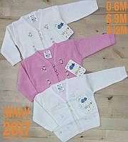 Детская кофта для девочек от 1 до 3 лет.