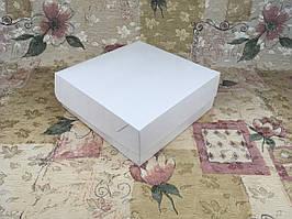 Коробка для 9-ти кексов / 250х250х90 мм / Белая / б.о.