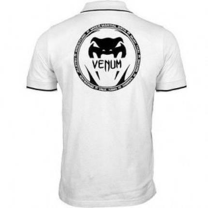 Футболка Venum All sports Polo - White, фото 2