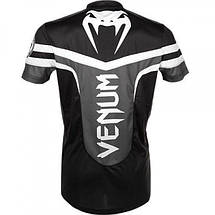 Футболка Venum - Sharp Dry Fit - Black & White, фото 3