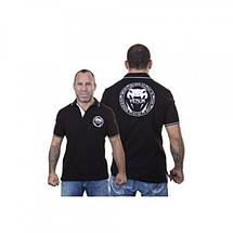 Футболка Venum All sports Polo - Black, фото 3