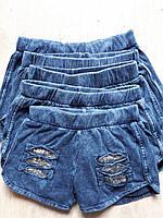 Катоновые шорты для девочек от 1 до 5 лет.
