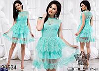 Платье S-1294 (42-44, 44-46) — купить Платья оптом и в розницу в одессе 7км