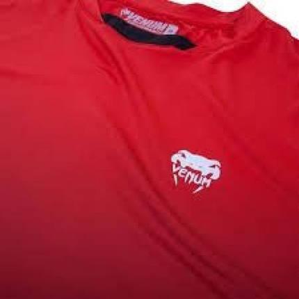 Футболка Venum Contender Dry Tech Red, фото 2