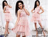 Платье S-1296 (42-44, 44-46) — купить Платья оптом и в розницу в одессе 7км
