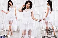Платье S-1298 (42-44, 44-46) — купить Платья оптом и в розницу в одессе 7км