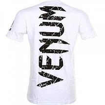 Футболка Venum Giant T-shirt White, фото 3