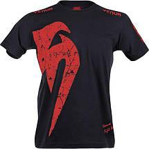 Футболка Venum Giant T-shirt Red, фото 2
