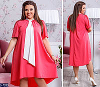 Платье S-1333 (48, 50, 52, 54) — купить Платья XL+ оптом и в розницу в одессе 7км
