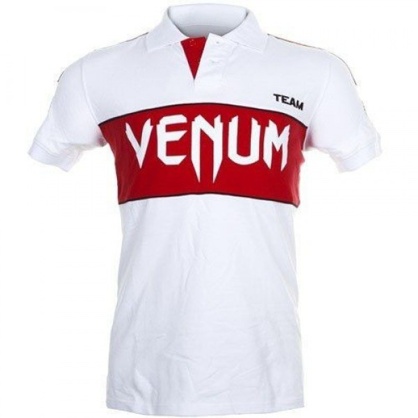 Футболка Venum Japan Team Polo - White/Red