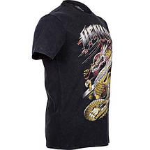 Футболка Venum Lyoto Machida Tatsu King T-shirt Black, фото 3
