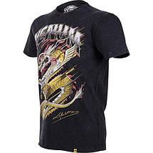 Футболка Venum Lyoto Machida Tatsu King T-shirt Black, фото 2
