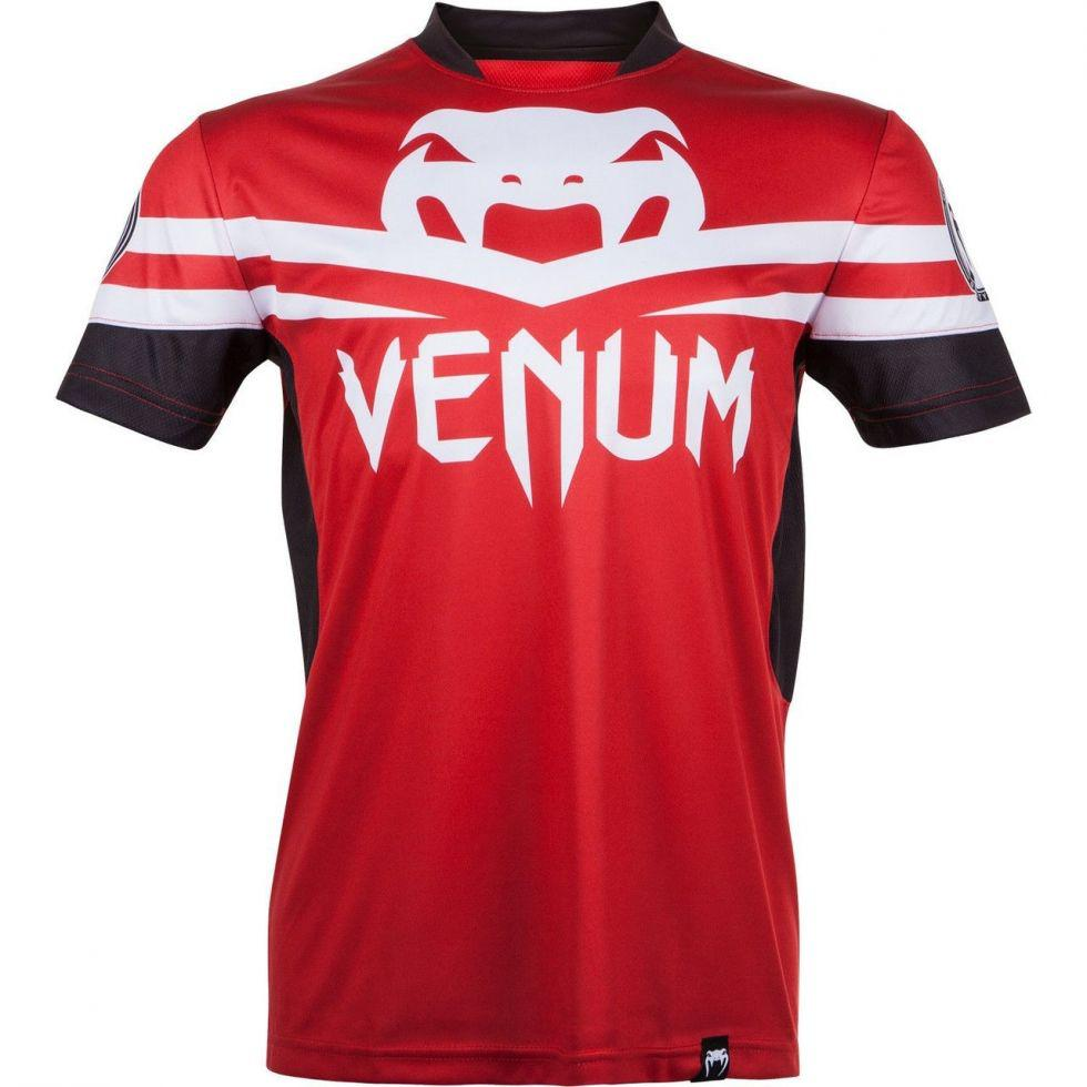 Футболка Venum Jose Aldo UFC 163 Ltd Editon Dry Tech T-shirt - Red