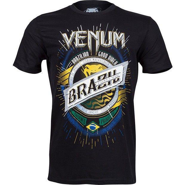 Футболка Venum Keep Rolling T-Shirt Black