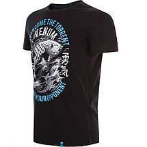 Футболка Venum Koi T-Shirt Black, фото 2