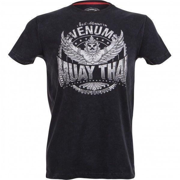 Футболка Venum Muay Thaï Garuda T-shirt - Black