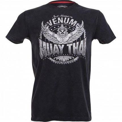 Футболка Venum Muay Thaï Garuda T-shirt - Black, фото 2