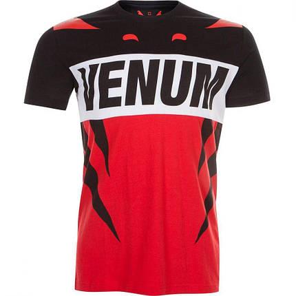 Футболка Venum Revenge T-Shirt Red Black, фото 2