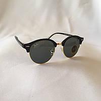 Cолнцезащитные очки Ray Ban Clubround черный