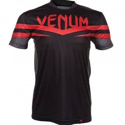 Футболка Venum Sharp Dry Tech T-shirt - Red Devil, фото 2