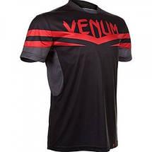 Футболка Venum Sharp Dry Tech T-shirt - Red Devil, фото 3