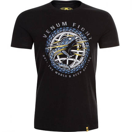 Футболка Venum RTW T-Shirt Black, фото 2