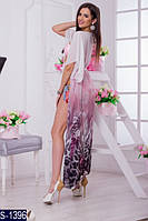 Парео S-1396 (42-54) — купить Пляжные туники оптом и в розницу в одессе 7км