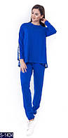 Прогулочный костюм S-1434 (50, 52, 54) — купить Распродажа XL+ оптом и в розницу в одессе 7км