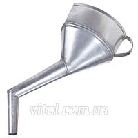 """Лейка автомобильная для топлива Vitol """"ВИТО, ВАЗ 2108-2109"""", для бензина, оцинкованная, воронка автомобильная, воронка для топлива"""