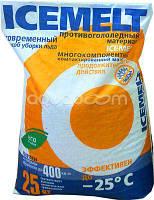 Противогололедный реагент АЙСМЕЛТ 25 кг